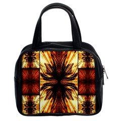 Background Pattern Classic Handbags (2 Sides)