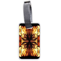 Background Pattern Luggage Tags (One Side)