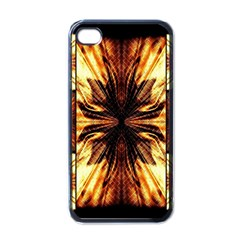 Background Pattern Apple iPhone 4 Case (Black)