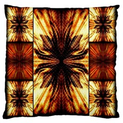 Background Pattern Large Cushion Case (Two Sides)