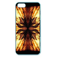Background Pattern Apple Seamless Iphone 5 Case (color)