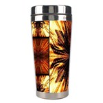 Background Pattern Stainless Steel Travel Tumblers Left