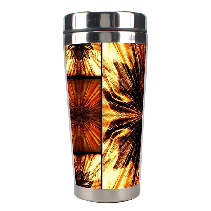 Background Pattern Stainless Steel Travel Tumblers