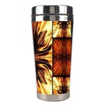 Background Pattern Stainless Steel Travel Tumblers Right