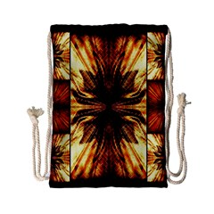 Background Pattern Drawstring Bag (small)