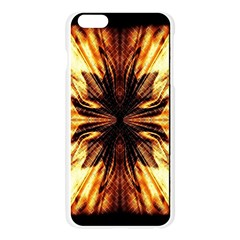 Background Pattern Apple Seamless iPhone 6 Plus/6S Plus Case (Transparent)