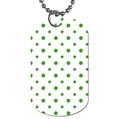 Saint Patrick Motif Pattern Dog Tag (One Side)