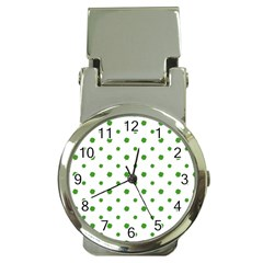 Saint Patrick Motif Pattern Money Clip Watches