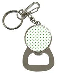 Saint Patrick Motif Pattern Button Necklaces
