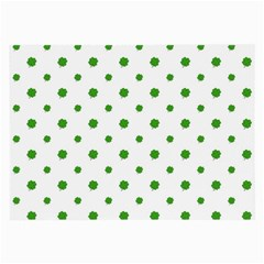 Saint Patrick Motif Pattern Large Glasses Cloth (2-Side)