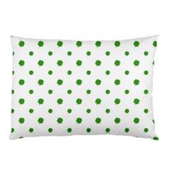 Saint Patrick Motif Pattern Pillow Case