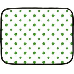 Saint Patrick Motif Pattern Double Sided Fleece Blanket (Mini)
