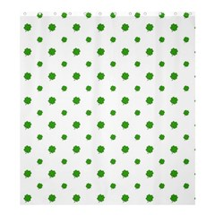 Saint Patrick Motif Pattern Shower Curtain 66  x 72  (Large)