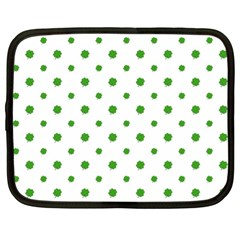 Saint Patrick Motif Pattern Netbook Case (XL)