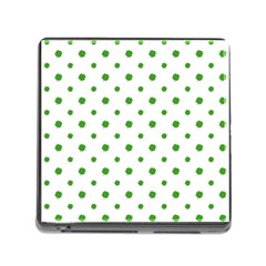 Saint Patrick Motif Pattern Memory Card Reader (Square)