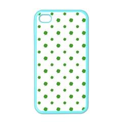 Saint Patrick Motif Pattern Apple iPhone 4 Case (Color)