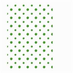 Saint Patrick Motif Pattern Small Garden Flag (Two Sides)