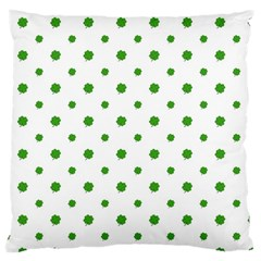 Saint Patrick Motif Pattern Large Cushion Case (Two Sides)