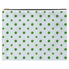 Saint Patrick Motif Pattern Cosmetic Bag (XXXL)