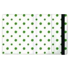 Saint Patrick Motif Pattern Apple iPad 2 Flip Case