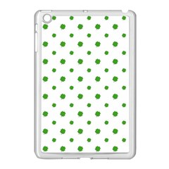 Saint Patrick Motif Pattern Apple iPad Mini Case (White)