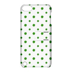 Saint Patrick Motif Pattern Apple iPod Touch 5 Hardshell Case with Stand