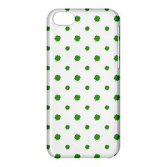 Saint Patrick Motif Pattern Apple iPhone 5C Hardshell Case