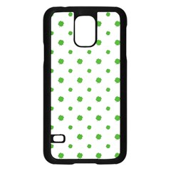 Saint Patrick Motif Pattern Samsung Galaxy S5 Case (Black)