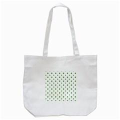Saint Patrick Motif Pattern Tote Bag (White)