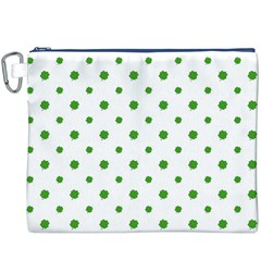 Saint Patrick Motif Pattern Canvas Cosmetic Bag (XXXL)