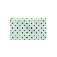 Saint Patrick Motif Pattern Cosmetic Bag (XS)