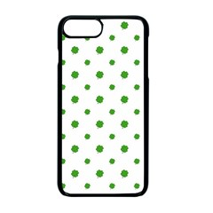 Saint Patrick Motif Pattern Apple iPhone 7 Plus Seamless Case (Black)