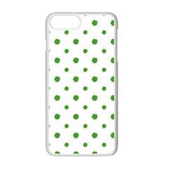 Saint Patrick Motif Pattern Apple iPhone 7 Plus White Seamless Case