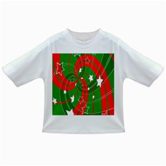 Background Abstract Christmas Infant/Toddler T-Shirts