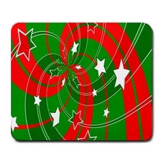 Background Abstract Christmas Large Mousepads