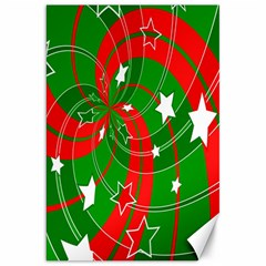 Background Abstract Christmas Canvas 20  x 30