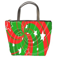 Background Abstract Christmas Bucket Bags