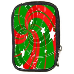 Background Abstract Christmas Compact Camera Cases