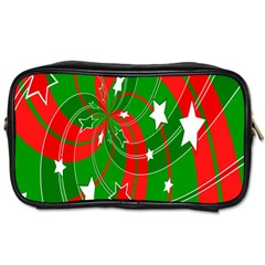 Background Abstract Christmas Toiletries Bags