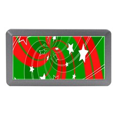 Background Abstract Christmas Memory Card Reader (Mini)