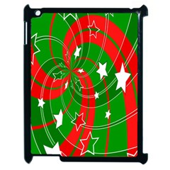 Background Abstract Christmas Apple iPad 2 Case (Black)