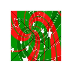 Background Abstract Christmas Acrylic Tangram Puzzle (4  x 4 )