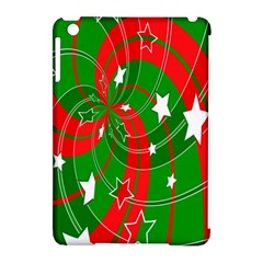 Background Abstract Christmas Apple iPad Mini Hardshell Case (Compatible with Smart Cover)