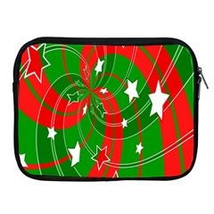 Background Abstract Christmas Apple iPad 2/3/4 Zipper Cases
