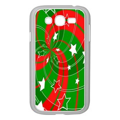Background Abstract Christmas Samsung Galaxy Grand DUOS I9082 Case (White)