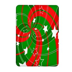 Background Abstract Christmas Samsung Galaxy Tab 2 (10 1 ) P5100 Hardshell Case