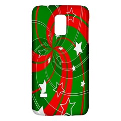 Background Abstract Christmas Galaxy S5 Mini