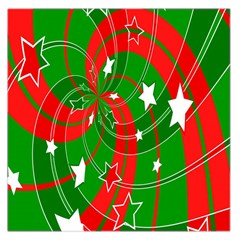 Background Abstract Christmas Large Satin Scarf (square)