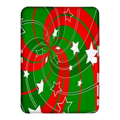 Background Abstract Christmas Samsung Galaxy Tab 4 (10.1 ) Hardshell Case
