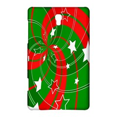 Background Abstract Christmas Samsung Galaxy Tab S (8.4 ) Hardshell Case